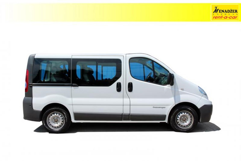 Renault Trafic 2.0 8+1