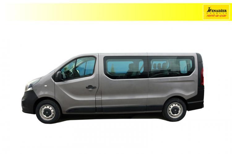 Opel Vivaro 1,6 D 8+1